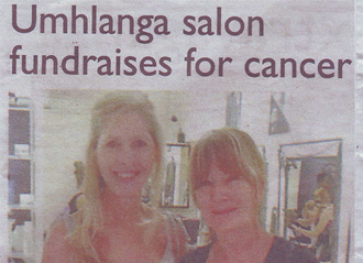 Umhlanga Salon Fundraises for Cancer